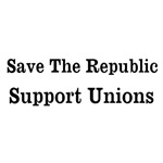 Save The Republic Support Unions