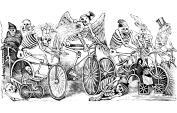 Calaveras en Bicicleta Store