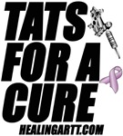 Tats for a Cure with Ribbon