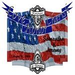 American Flag Luv Logo