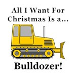 Christmas Bulldozer