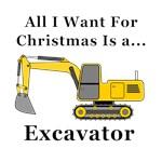 Christmas Excavator
