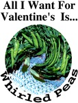 Valentine's Whirled Peas