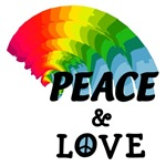 Rainbow Peace and Love