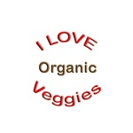 I Love Organic Veggies