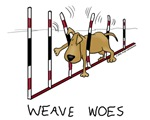 Weave Woes - Dog Agility