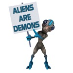 Aliens are Demons