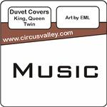 Music Duvet Covers