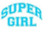 Super Girl - Light Blue