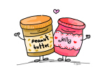 peanut butter loves jelly