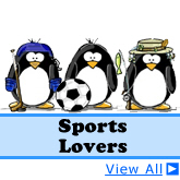 Sports Lover Penguins