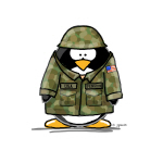 US Soldier Penguin