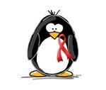 Red Ribbon Penguin