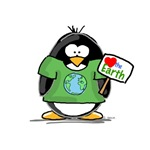 Love the Earth Penguin