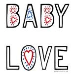 Baby love hearts