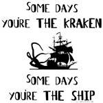 Some days you're the Kraken