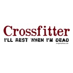 Crossfitter rest when dead