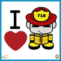 I Heart Firefighters 1.0