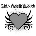 Brain Cancer Warrior Tattoo Shirts & Gifts