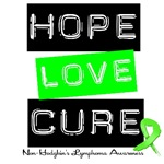 Hope Love Cure Non-Hodgkin's Lymphoma T-Shirts