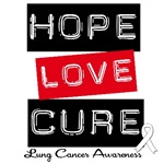 Hope Love Cure Lung Cancer Shirts & Gifts
