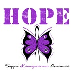 Hope Butterfly Leiomyosarcoma Shirts & Gifts