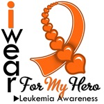 Leukemia Hero Orange Ribbon Shirts & Gifts