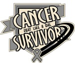 Brain Cancer Survivor Shirts and Gifts