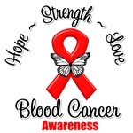 Hope Love Strength Blood Cancer Shirts