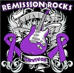 Remission Rocks Pancreatic Cancer Shirts 
