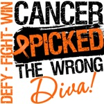 Kidney Cancer Picked The Wrong Diva Shirts