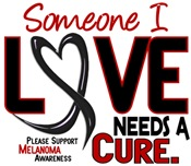 Needs A Cure 2 MELANOMA T-Shirts & Gifts