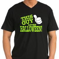This Guy Loves Halloween (green)