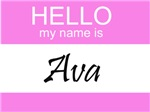 Hello My Name Is Ava