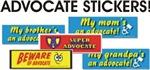 Advocate Stickers