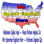 We Speak English Here