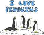 I Love Penguins In A Naughty Way