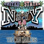 USN Navy Tin Can Sailor