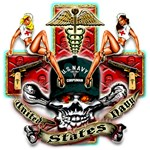US Navy Corpsman Skull