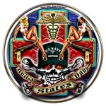 USN Navy Corpsman HM Skull
