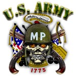 US Army MP Skull Military Police