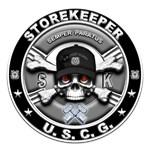USCG Storekeeper Skull SK