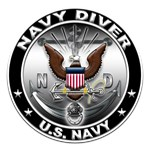 USN Navy Diver Eagle ND