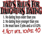 Dads Rules for Daughters Dating