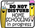 Homeschooling - Do Not Disturb