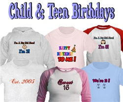 Child & Teen Birthdays