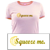 Squeeze Me! Lemon shirt