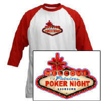 Las Vegas Poker Night T-Shirt