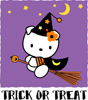 Halloween Trick or Treat Witch