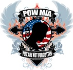 POW/MIA Cross & Heart